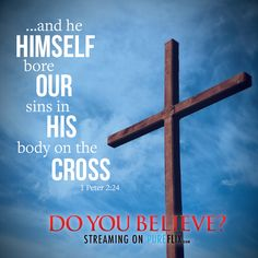 We are free because #Jesus bought us on #TheCross. #NotJustaSymbol