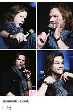Sam<< haha, nooo this is Jared!