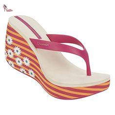 Ipanema , Tongs pour femme multicolore Mehrfarbig One Size - multicolore - pink-orange-beige (41074), 39 EU - Chaussures ipanema (*Partner-Link)