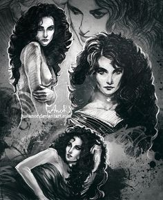 Yennefer - sketches by JustAnoR on DeviantArt Yennefer Witcher, Yennefer Of Vengerberg, Witcher Art, The Witcher Game, The Witcher Books, Fantasy Character Design, Character Inspiration, Character Art, Character Portraits