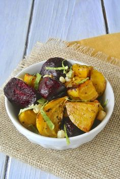 Roasted beet and grilled corn salad with lemon vinaigrette #beet #salad