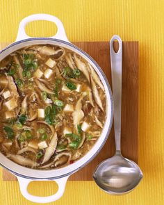 Hot and Sour Soup (my favorite!)