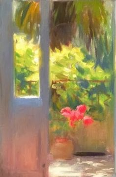 Back Door to Garden, by Aldo Balding