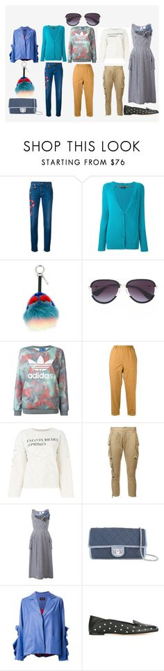 """""""fashion collection"""" by monica022 ❤ liked on Polyvore featuring Gucci, Etro, Fendi, adidas Originals, Forte Forte, Enfants Riches Déprimés, Dsquared2, Chanel, Elaidi and Alexander McQueen"""
