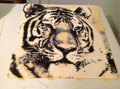 Perler art —artist: Bryce Lane