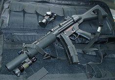 ICS MP5 SD5 A4 AEG