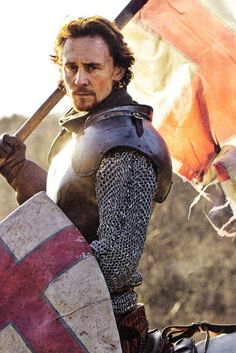 Tom Hiddleston as Henry V in The Hollow Crown. Based on the plays by William Shakespeare
