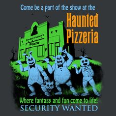 The+Haunted+Pizzeria+by+Ninjaink+-+Get+Free+Worldwide+Shipping!+This+neat+design+is+available+on+comfy+T-shirt+(including+oversized+shirts+up+to+6XL+ladies+fit+and+kids+shirts),+sweatshirts,+hoodies,+phone+cases,+and+more.+Free+worldwide+shipping+available.
