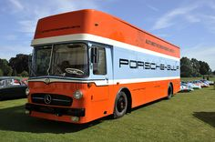 Gulf and Porsche Volkswagen, Vw Bus, Le Mans, Porsche Rsr, Move Car, Mercedes Benz Trucks, Ex Machina, Busse, Vintage Race Car