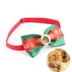 Black Friday - Cyber Monday Offer:  Dog Bowties Pet Ties For Wedding Party Christmas Festival Adjustable