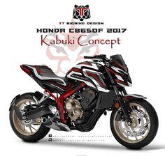 TT BIGBIKE DESIGN HONDA CB650f 2017 KABUKI CONCEPT