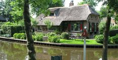 Giethoorn was founded around AD 1230. Giethoorn is a village in the province of Overijssel (Netherlands). This idyllic village has no roads.