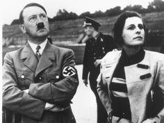 Adolf Hitler and Leni Riefenstahl.