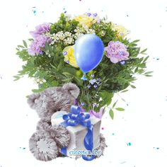 GIFs flowers για όλες τις περιστάσεις - eikones top Snow Globes, Flowers, Decor, Decoration, Decorating, Royal Icing Flowers, Flower, Florals, Floral