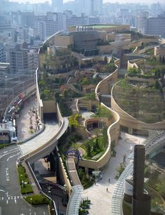 Quite possibly the world's most amazing modern green roof.