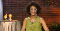 """The Chew"" chef Carla Hall joined Candace Rose to share dining tips, how to make eating out a colorful experience and her three restaurant must haves."