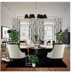 """""""A Black and White View"""" by angiem on Polyvore"""