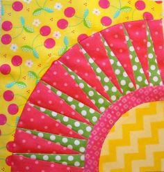 Oklahoma Beauty quilt Block 10 by 44th Street Fabric Fan, via Flickr
