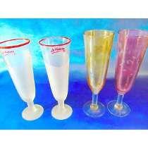 El Arcon Dos Pares De Copas De Cristal Para Champagne 833