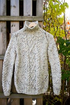 Ravelry: Harvest Sweater pattern by Handy Kitty