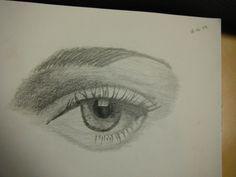 i love drawing eyes