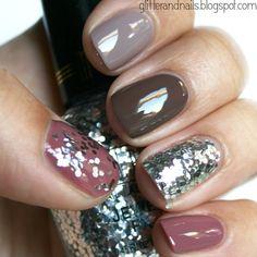 I am loving this nail look!