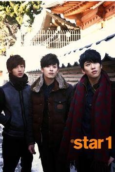 Kwang Min, Dong Hyun, Hyun Seong - @ Star1 Magazine