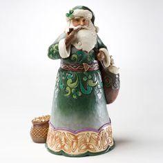Green Irish Santa- $56.00