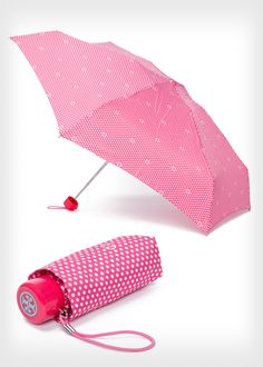 Brighten up the fight against breast cancer with this pink polka dot umbrella from @Tory Burch. (Proceeds from its sales will benefit the Breast Cancer Research Foundation.) Find more awesome products that support the cause: http://www.womenshealthmag.com/life/breast-cancer-awareness-merchandise-2013