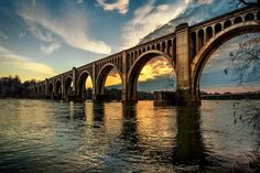 James River rail bridge by Bill Dickinson on 500px