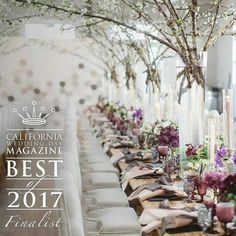 #Repost @agoodaffair    WINTER WEDDING IDEA  ・・・  We are so thrilled to be nominated again this year for Best Designer, please vote for us {Link in Profile}  Thank you! ❤   #agoodaffairdesign  @californiaweddingday  . . . . .   Photo: @brandonkiddphoto   Design: @agoodaffair   Florals: @bloomboxdesigns  Venue|Catering: @the_1912  @24carrotscatering   #eventdesigner #tablescape #weddingtrends #weddings #colorinspo #colortrends #bestofweddings2017 #centerpiece