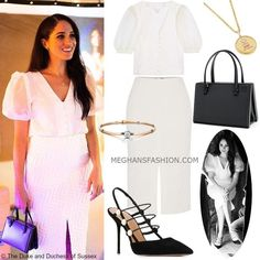 e meghan markle What Meghan wore for visit to Immersive Storytelling Studio Estilo Meghan Markle, Meghan Markle Hair, Meghan Markle Outfits, Meghan Markle Style, Kate And Meghan, Casual Outfits, Cute Outfits, Prinz Harry, Princess Meghan