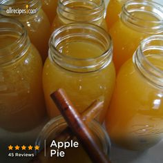 """This is the best recipe I've come across for apple pie. We chill it and serve it as shooters at all our parties."" —Laura Harman 