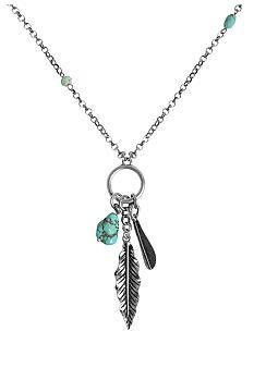 Lucky Brand Jewelry Charm Necklace