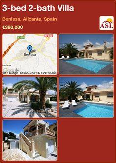 3-bed 2-bath Villa in Benissa, Alicante, Spain ►€390,000 #PropertyForSaleInSpain