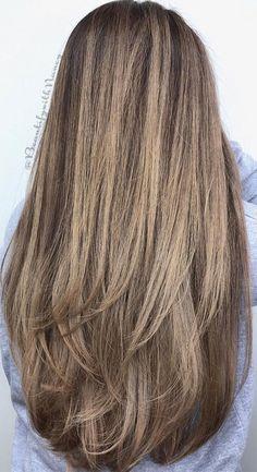 Layered Haircuts For Long Hair, Long Length Haircuts, Thin Hair Haircuts, Bun Hairstyles For Long Hair, Haircut For Thick Hair, Layered Hairstyles, Brunnete Hair Color, Thin Hair Layers, Wedding Readings