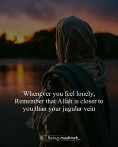 Feeling Lonely, Way Of Life, True Quotes, Islam, How Are You Feeling, Feelings, Movie Posters, Being Lonely, Film Poster