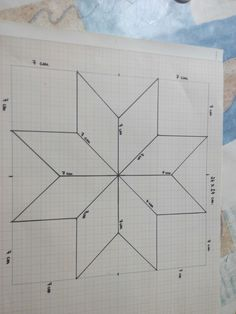 This page is intended to help people who want to start in the world of Patchwork. My idea is to give easy instructions.Informations About Esta página tiene como finalidad ayudar a las personas que se quieren iniciar e. PinYou can easily use my prof Barn Quilt Designs, Barn Quilt Patterns, Star Patterns, Quilting Designs, Star Quilt Blocks, Star Quilts, Christmas Quilting Projects, Painted Barn Quilts, Square Quilt