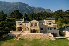 Uncompromising attention to detail is the key note of this magnificent residence in prestigious Ruyteplaats Mountain Estate, situated along the Atlantic coast. 4 Bedroom House, Coast, Mountain, Key, Detail, Mansions, Note, Luxury, House Styles