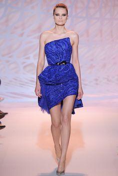 Zuhair Murad Fall 2014 Couture Fashion Show - Elena Melnik (SILENT)