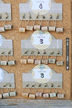 table numbers | VIA #WEDDINGPINS.NET