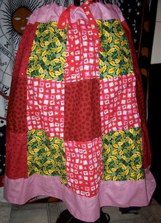 Patchwork Love Skirt by GatheringWillows on Etsy, $18.00