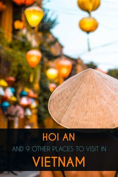 Wandering the narrow, cobbled streets of Hoi An is like stepping back in time. The old town of Hoi An comprises brick alleys, narrow streets, and ancient structures partially restored. The old clan houses, charming footbridges, and rich culture make Hoi An an exciting stop on the well-beaten north-south tourist trail. Learn about all the other highlights in this travel guide to Vietnam. Vietnam Travel Guide, Asia Travel, Ha Long Bay, Hoi An, North South, Fishing Villages, Where To Go, Travel Guides, Brick