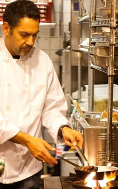 """""""The Greek menu is pretty much made up of two things: fresh local ingredients and simple preparation."""" -Chef Nikos Maheras (Mezes Greek Kitchen)"""