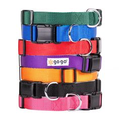 GoGo Pet Products Comfy Nylon 5/8-Inch Adjustable Pet Collar, Small, Pink * Be sure to check out this awesome product. (This is an Amazon affiliate link)