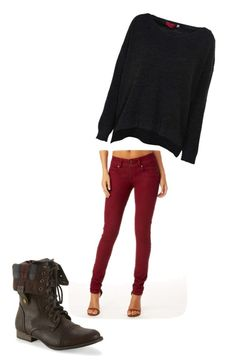 """""""Untitled #24"""" by sydnie257 ❤ liked on Polyvore featuring Aéropostale, Alloy Apparel and Boohoo"""