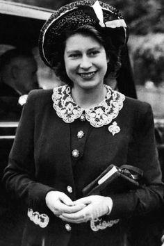 Queen Elizabeth II, 1944
