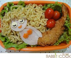Fun way to use noodles