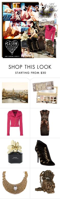 """""""2ne1"""" by shinee-pearly ❤ liked on Polyvore featuring TheBalm, Jane Norman, Jeremy Scott, Alexander McQueen, Marc Jacobs and Balmain"""