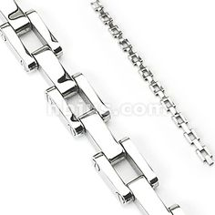 Shop for Stainless Steel RR Link Chain Bracelet mm) - in. Get free delivery On EVERYTHING* Overstock - Your Online Jewelry Shop! Bracelets For Men, Link Bracelets, Fashion Bracelets, Jewelry Bracelets, Jewelry Watches, Necklaces, Bike Boots, Wholesale Body Jewelry, Gold Body Jewellery